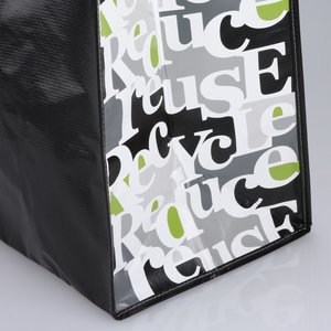Expressions Grocery Tote - Black Image 1 of 1