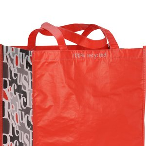 Expressions Grocery Tote - Red Image 2 of 4