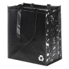 View Image 3 of 3 of Expressions Grocery Tote - Black - 24 hr