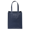 View Image 2 of 3 of Expressions Grocery Tote - Navy - 24 hr