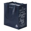 View Image 3 of 3 of Expressions Grocery Tote - Navy - 24 hr