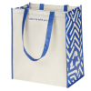 View Image 3 of 3 of Expressions Grocery Tote - Royal Print - 24 hr