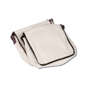 Recycled Cotton Messenger Bag