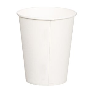 Compostable Solid Cup - 12 oz. - Low Qty Image 1 of 2