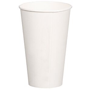 Compostable Solid Cup - 16 oz. - Low Qty Image 1 of 2