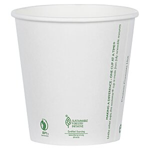 Compostable Solid Cup - 10 oz. Image 2 of 2