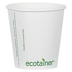 Compostable Solid Cup - 10 oz. Image 1 of 2
