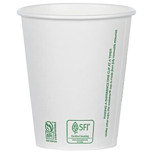 Compostable Solid Cup - 12 oz. Image 2 of 2