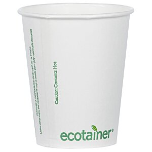 Compostable Solid Cup - 12 oz. Image 1 of 2