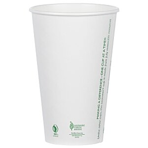 Compostable Solid Cup - 16 oz. Image 2 of 2
