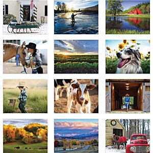 The Old Farmer's Almanac Calendar - Country- Stapled - 24 hr Image 1 of 1
