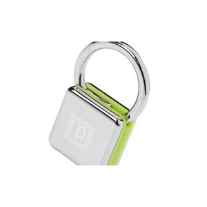 Sandwiched Color Block Key Tag Image 1 of 3
