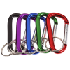 View Extra Image 1 of 1 of Carabiner Keychain - 24 hr
