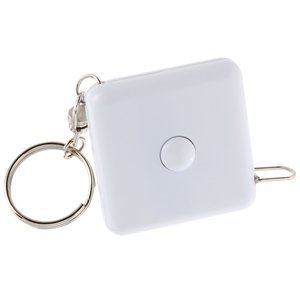 3' Square Tape Measure Keyholder - Opaque