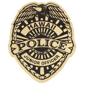 Lapel Sticker by the Roll - Junior Officer Badge Image 1 of 2