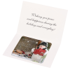 Greeting Card with Magnetic Calendar - Snowman Image 2 of 4