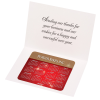 Greeting Card with Magnetic Calendar - Red & Gold New Year Image 2 of 4