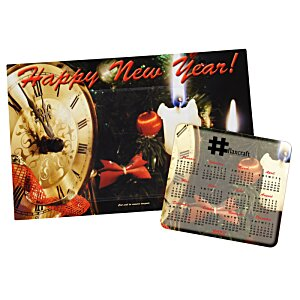Greeting Card with Magnetic Calendar - Midnight Image 1 of 2