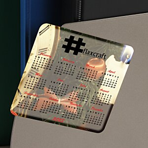 Greeting Card with Magnetic Calendar - Midnight Image 2 of 2