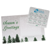 Greeting Card with Magnetic Calendar - Snowfall Image 2 of 2