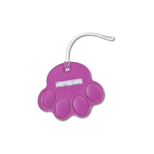 Paw Luggage Tag - Opaque