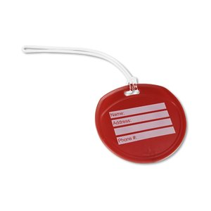Traveler Round Luggage Tag - Opaque Image 1 of 1