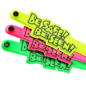 Be Safe Be Seen Reflective Wristlet Band Image 2 of 2