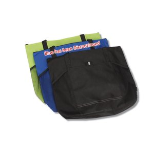 Solutions Zippered Tote - Closeout Image 1 of 2