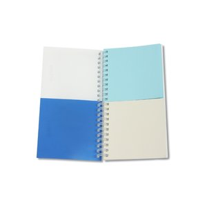 Half-n-Half Balanced Life Notebook - Stock Design Image 1 of 2
