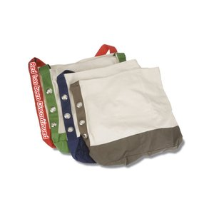 Cotton Grommet Sport Tote - 24 hr Image 1 of 1