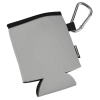 View Extra Image 2 of 2 of Collapsible Koozie® Can Kooler with Carabiner - 24 hr