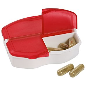 Tri-Minder Pill Box - Translucent Image 1 of 2