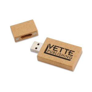 Eco Paperboard USB Drive - 4GB - 24 hr Image 1 of 3