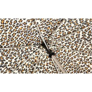 totes Auto Open/Close Umbrella - Leopard Image 1 of 2