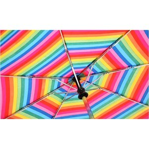 totes Auto Open/Close Umbrella - Stripes - 24 hr Image 2 of 2