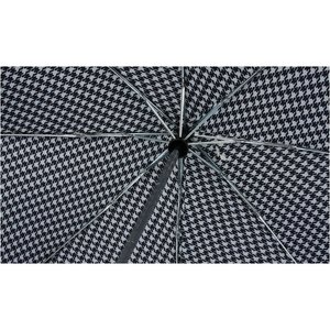 totes Auto Open/Close Umbrella - Houndstooth - 24 hr Image 1 of 3