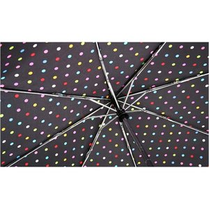 totes Auto Open/Close Umbrella - Polka Dots - 24 hr Image 1 of 1