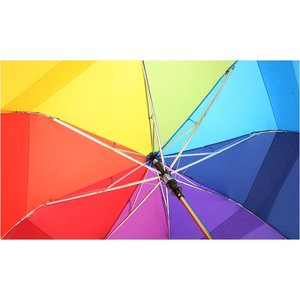 totes Stormbeater Folding Umbrella - Rainbow Image 3 of 3