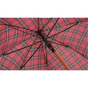 totes Automatic Stick Umbrella - Plaid Image 2 of 2
