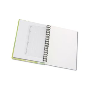 Contempo Mod Print Notebook w/Ruler & Book Mark Image 2 of 3