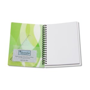 Contempo Mod Print Notebook w/Ruler & Book Mark Image 3 of 3