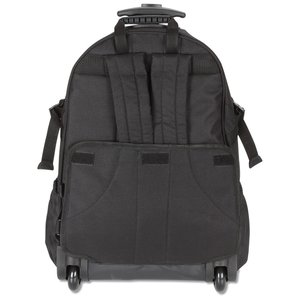 Kenwood Wheeled Laptop Backpack - Embroidered Image 2 of 3