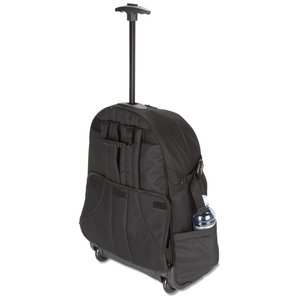 Kenwood Wheeled Laptop Backpack - Embroidered Image 3 of 3