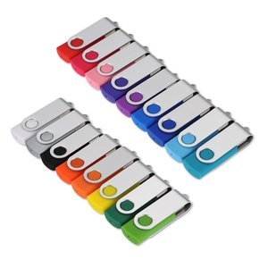 Swinging USB Drive - 1GB - 24 hr