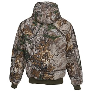 DRI DUCK Cheyenne Hooded 12 oz. Jacket - Camo Image 1 of 2