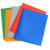 View Extra Image 1 of 2 of Basic 2-Pocket Poly Folder