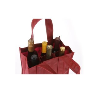 Six Bottle Wine Tote Image 2 of 2