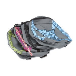 Paint Splatter Backpack Image 1 of 2