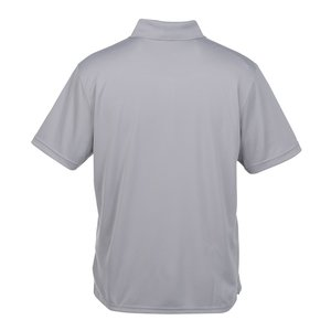 Vansport Omega Solid Mesh Tech Polo - Men's - Embroidered Image 1 of 1