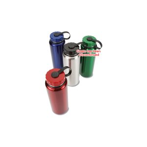 Stainless Sport Bottle - 34 oz. - Colors Image 2 of 2